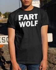 FART WOLF Shirt Classic T-Shirt apparel-classic-tshirt-lifestyle-29