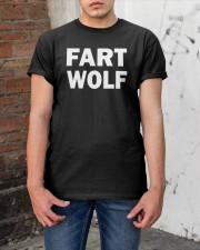 FART WOLF Shirt Classic T-Shirt apparel-classic-tshirt-lifestyle-31