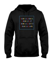 Rabgafban shirt Hooded Sweatshirt thumbnail
