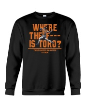 WHERE THE F IS TORO SHIRT Crewneck Sweatshirt thumbnail