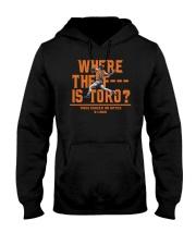 WHERE THE F IS TORO SHIRT Hooded Sweatshirt thumbnail