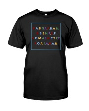 Act Up shirt Classic T-Shirt front