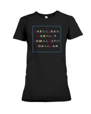 Act Up shirt Premium Fit Ladies Tee thumbnail