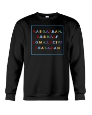 REAL ASS BITCH GIVE A FUCK BOUT A NIGGA SHIRT Crewneck Sweatshirt thumbnail