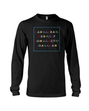 REAL ASS BITCH GIVE A FUCK BOUT A NIGGA SHIRT Long Sleeve Tee thumbnail