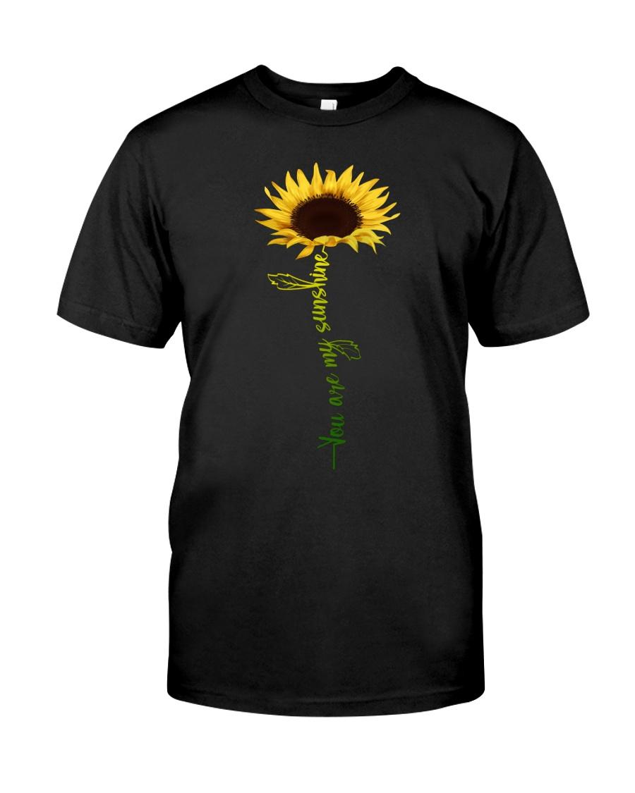 You are my sunshine Sunflower T Shirt Classic T-Shirt
