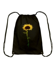 You are my sunshine Sunflower T Shirt Drawstring Bag thumbnail