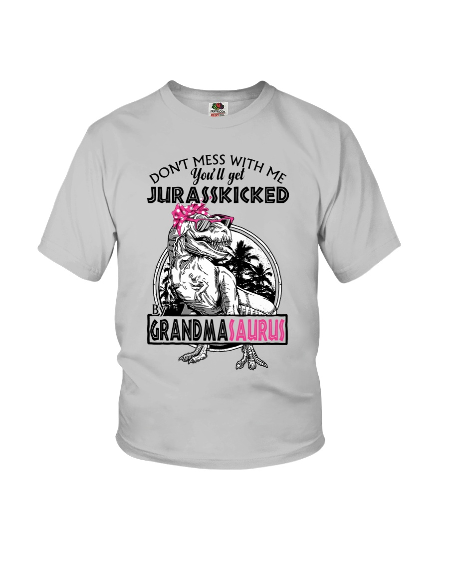 DON'T MESS WITH ME - GRANDMASAURUS Youth T-Shirt