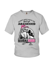DON'T MESS WITH ME - GRANDMASAURUS Youth T-Shirt front