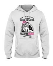 DON'T MESS WITH ME - GRANDMASAURUS Hooded Sweatshirt thumbnail