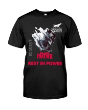 black panther4 Classic T-Shirt front