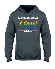 america gay Hooded Sweatshirt tile