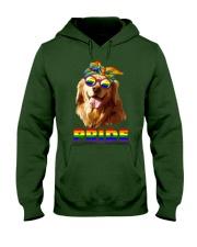 gay Hooded Sweatshirt front