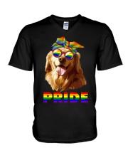 gay V-Neck T-Shirt thumbnail