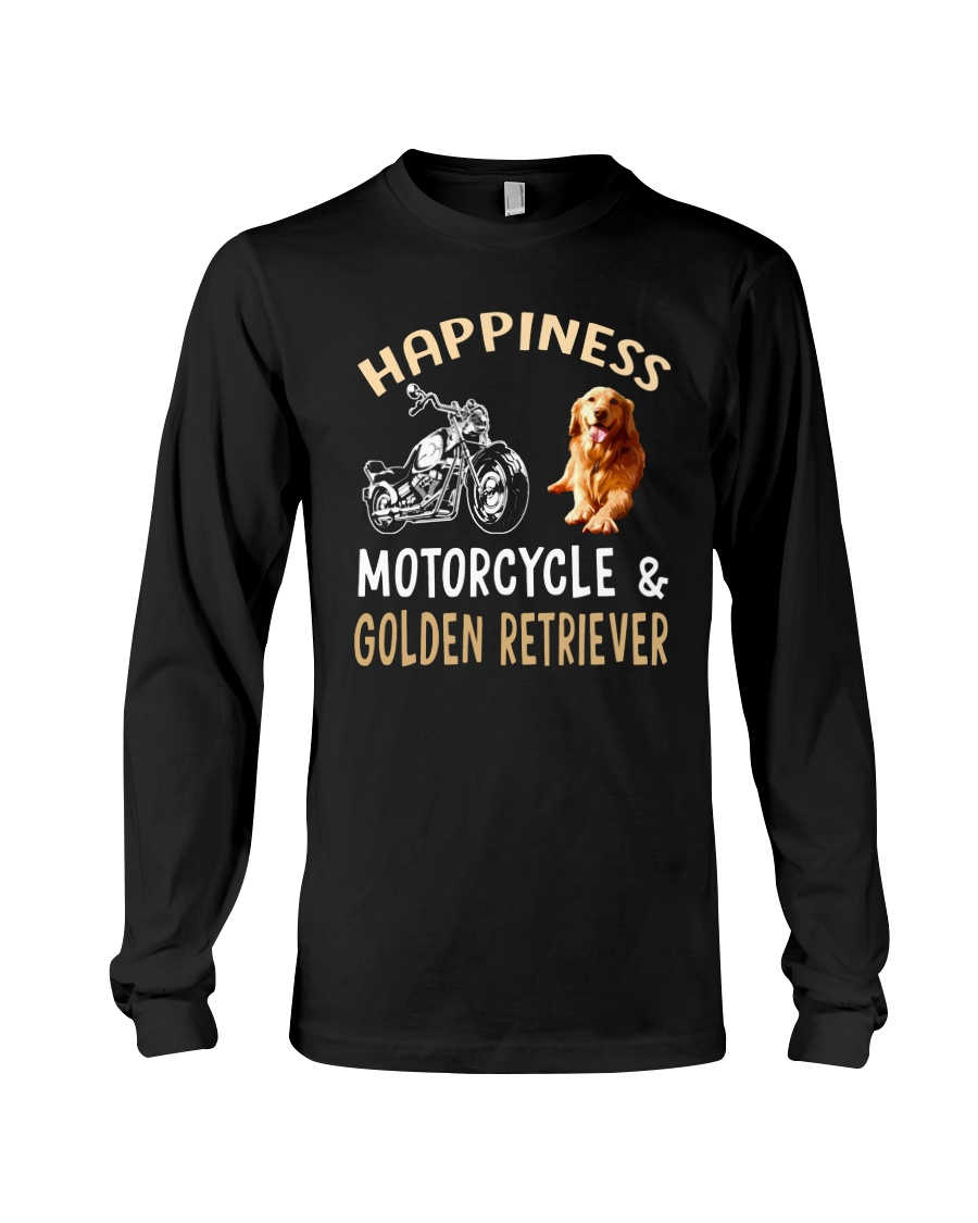golden retriever Long Sleeve Tee