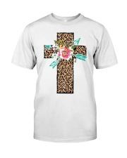CROSS FLOWER Classic T-Shirt front