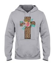 CROSS FLOWER Hooded Sweatshirt thumbnail