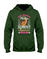 Abyssinian Hooded Sweatshirt front