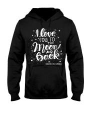 love you moon and back Hooded Sweatshirt thumbnail