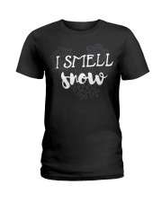 I SMELL SNOW Ladies T-Shirt thumbnail