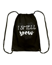 I SMELL SNOW Drawstring Bag thumbnail