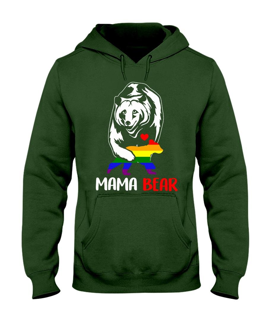 gay mama bear Hooded Sweatshirt