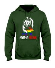 gay mama bear Hooded Sweatshirt front