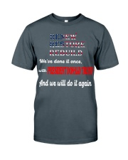 DONALD TRUMP T SHIRT Classic T-Shirt front