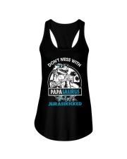 DON'T MESS WITH PAPASAURUS Ladies Flowy Tank thumbnail