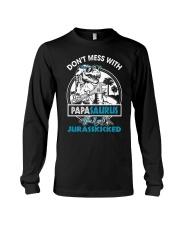 DON'T MESS WITH PAPASAURUS Long Sleeve Tee thumbnail