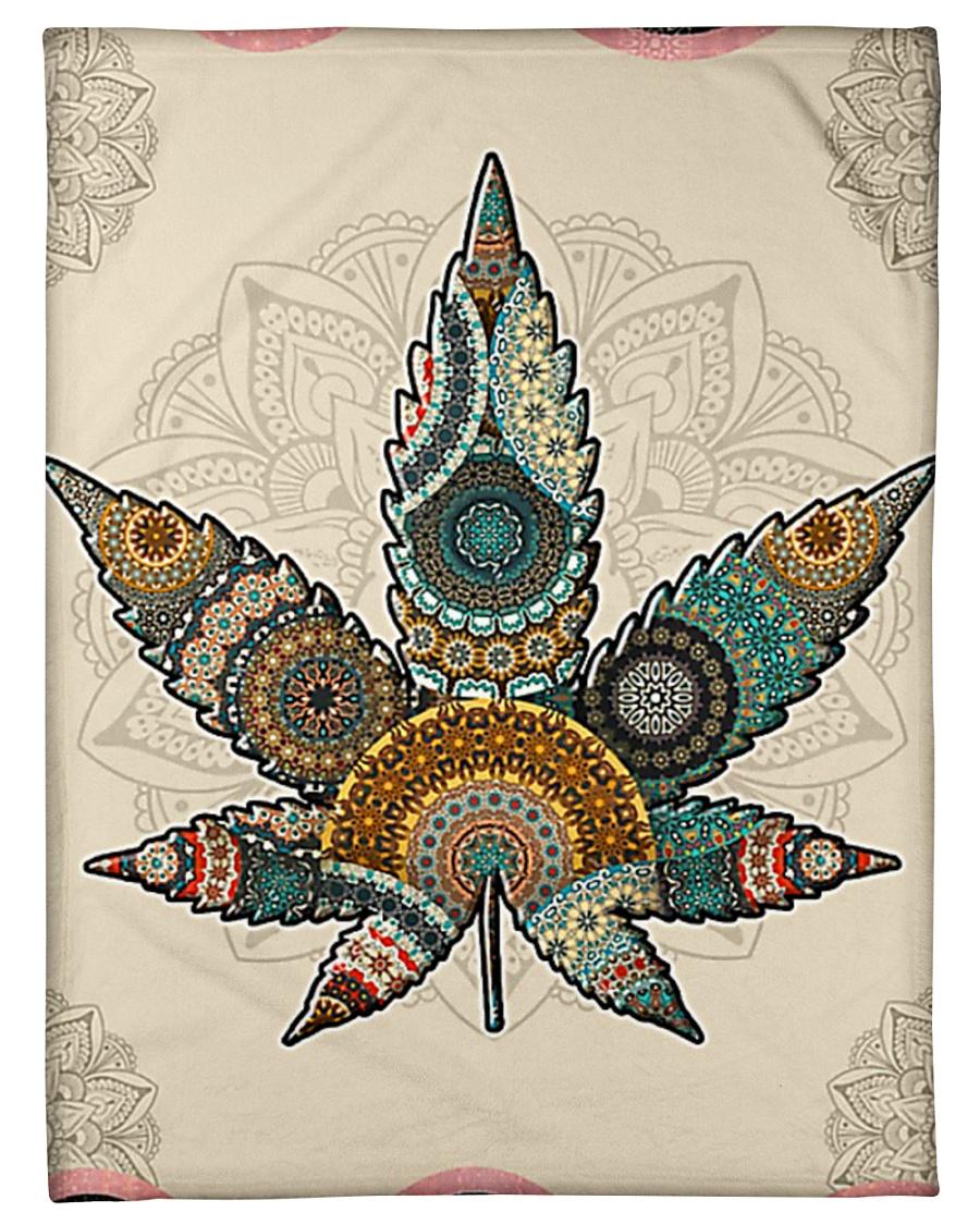 "Cannabis Small Fleece Blanket - 30"" x 40"""