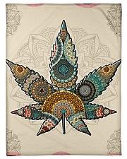 "Cannabis Small Fleece Blanket - 30"" x 40"" front"