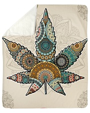 "Cannabis Sherpa Fleece Blanket - 50"" x 60"" thumbnail"