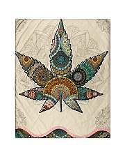 """Cannabis Quilt 40""""x50"""" - Baby thumbnail"""