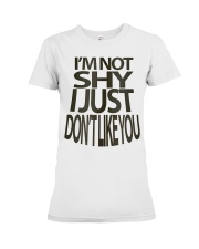 I'm Not Shy Premium Fit Ladies Tee thumbnail