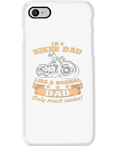 Bikers dad Loves Motorcycle T Shirt