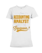 Accounting Analyst 6 Premium Fit Ladies Tee thumbnail