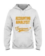 Accounting Analyst 6 Hooded Sweatshirt thumbnail