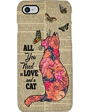Cat All you need Gift for you Phone Case i-phone-8-case