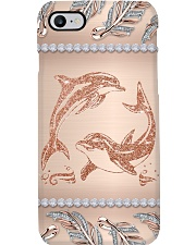 Dolphin angels dolphin lovers Phone Case i-phone-8-case