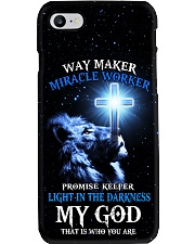 God Light in the darkness Gift for you Phone Case i-phone-8-case