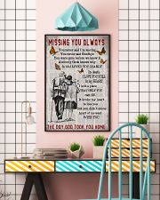 Missing you always Gift for you 24x36 Poster lifestyle-poster-6