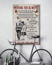 Missing you always Gift for you 24x36 Poster lifestyle-poster-7