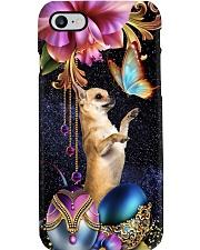 Chihuahua big flowers chihuahua lovers dog moms Phone Case i-phone-8-case