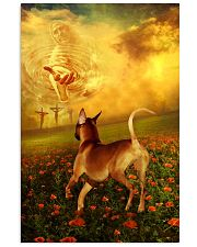 Rhodesian Ridgeback went with God poster 11x17 Poster front