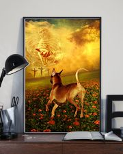 Rhodesian Ridgeback went with God poster 11x17 Poster lifestyle-poster-2