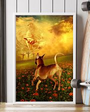 Rhodesian Ridgeback went with God poster 11x17 Poster lifestyle-poster-4