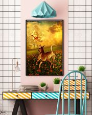 Rhodesian Ridgeback went with God poster 11x17 Poster lifestyle-poster-6