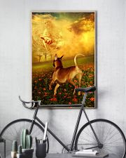 Rhodesian Ridgeback went with God poster 11x17 Poster lifestyle-poster-7