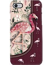 Fashion flamingo turtle background Gift for you Phone Case i-phone-8-case